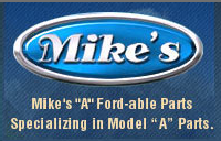 """Mike's """"A"""" Ford-able Parts"""